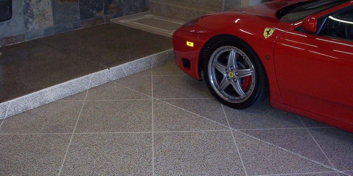 Ferrari Epoxy Garage